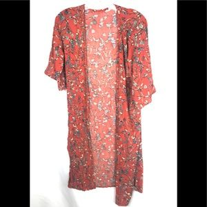 SKY AND SPARROW long open front cardigan S/M